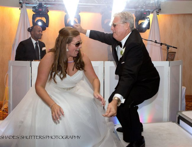 Father and daughter wedding song and dance
